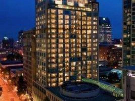 Delta Vancouver Suites Hotel building