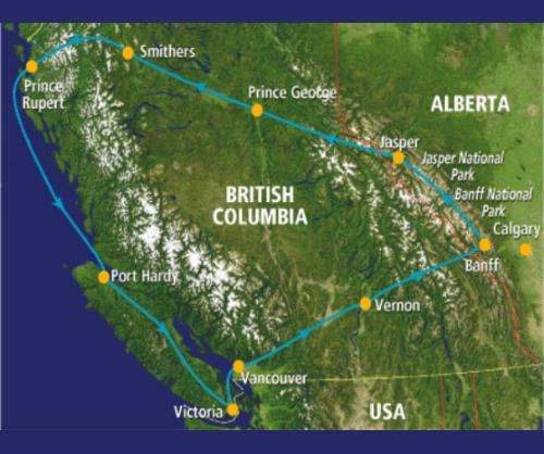 groepsreis Canada Rocky Roundup