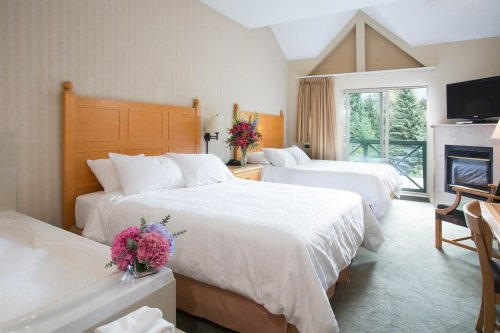 Pinnacle International Hotel Whistler kamer