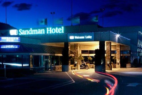 Sandman Hotel Penticton buitenkant