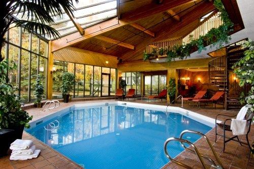 Chateau Jasper binnenzwembad