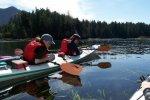 Kajakken door afgelegen wateren in Tofino