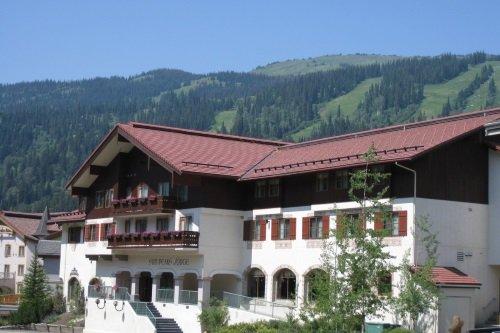 Sun Peaks Lodge buitenkant