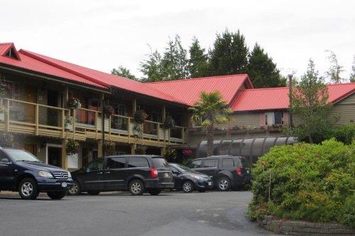 Schooner Motel buitenkant