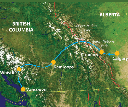 Groepsreis Canada Western Journey 001