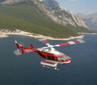 Banff Helicopter vlucht