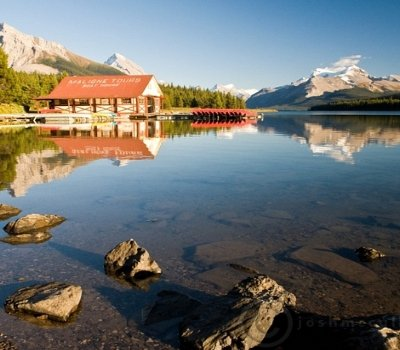 Jasper Maligne Lake Cruise